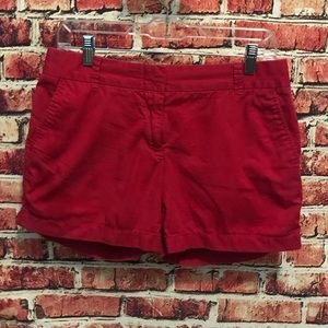 J Crew Pink Broken In Chino Shorts